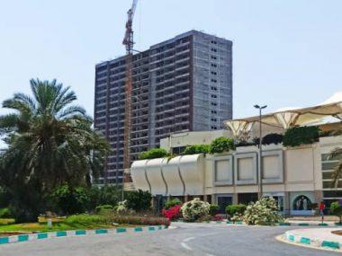 آپارتمان ۷۰ متری در برج برند دامون ساحلی۲ کیش
