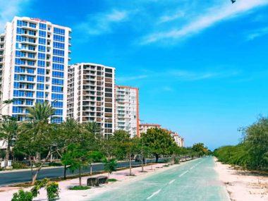 شهر آفتاب کیش آپارتمان ۱۱۰ متری با دید دریا – کد ۲۰۵